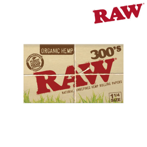 Raw Organic Hemp 1¼ 300's