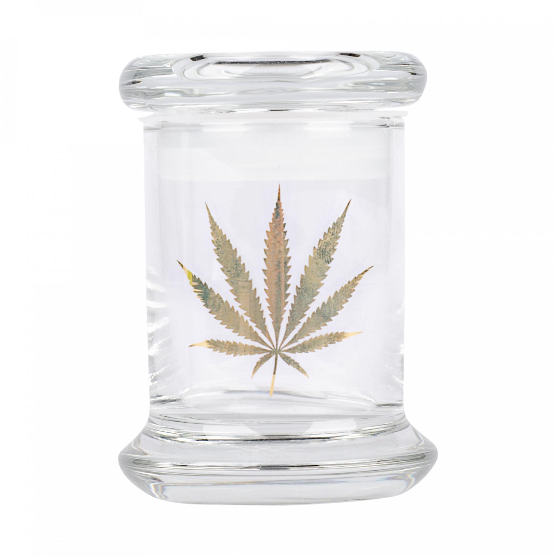 420 Science Pop-Top 24k Gold Hemp Leaf