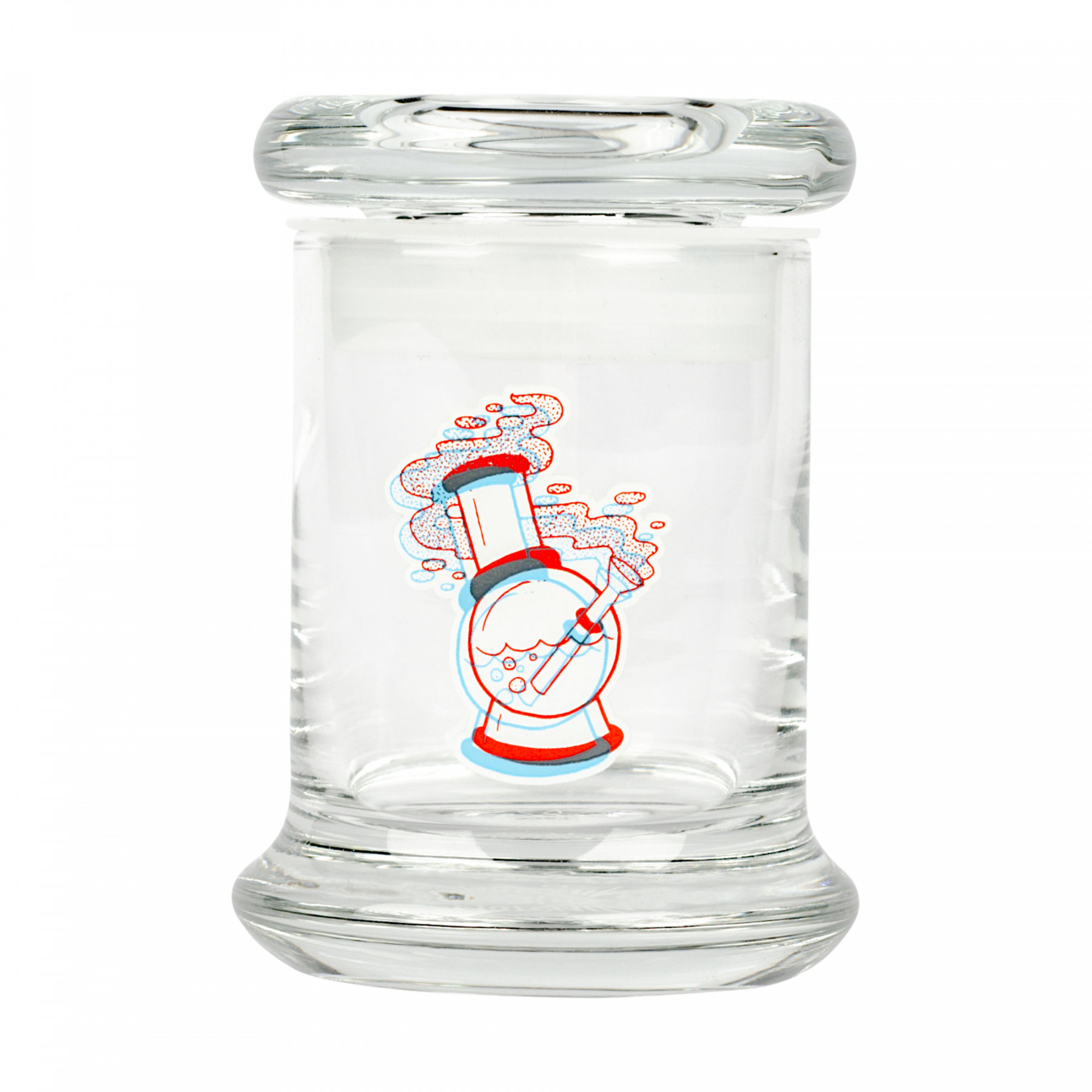 420 Science Pop-Top 3D Water Pipe Jar
