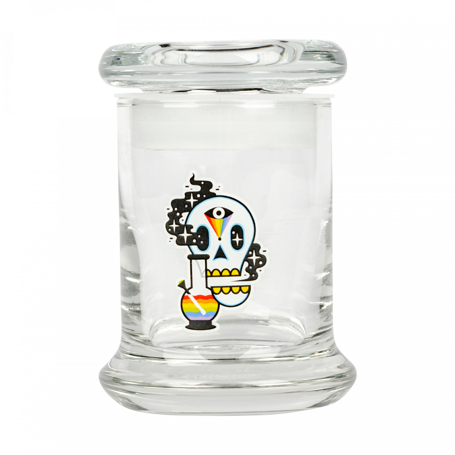 420 Science Pop-Top Cosmic Skull Jar