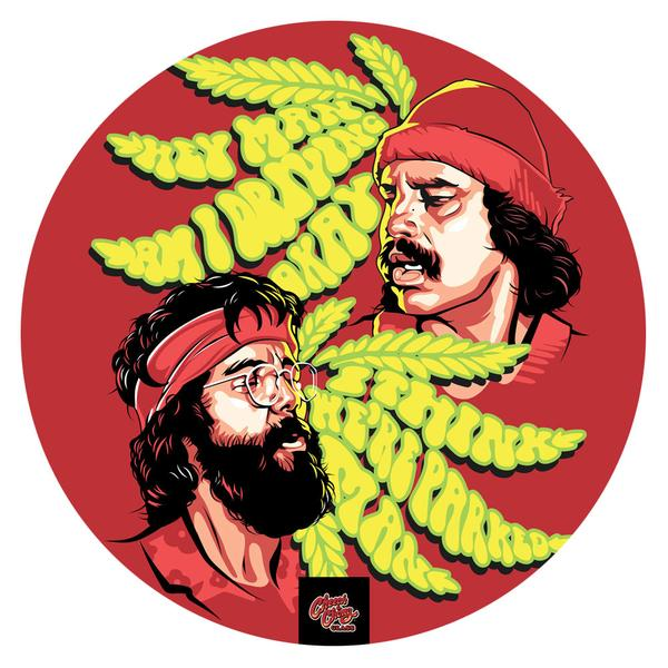 My Dab Mat - Tommy & Cheech