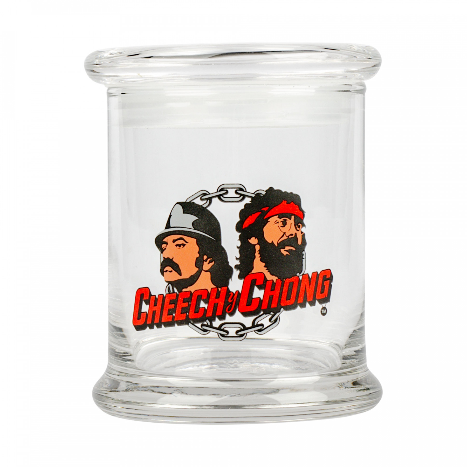 Cheech & Chong™ Glass Love Machine Pop Top Jar