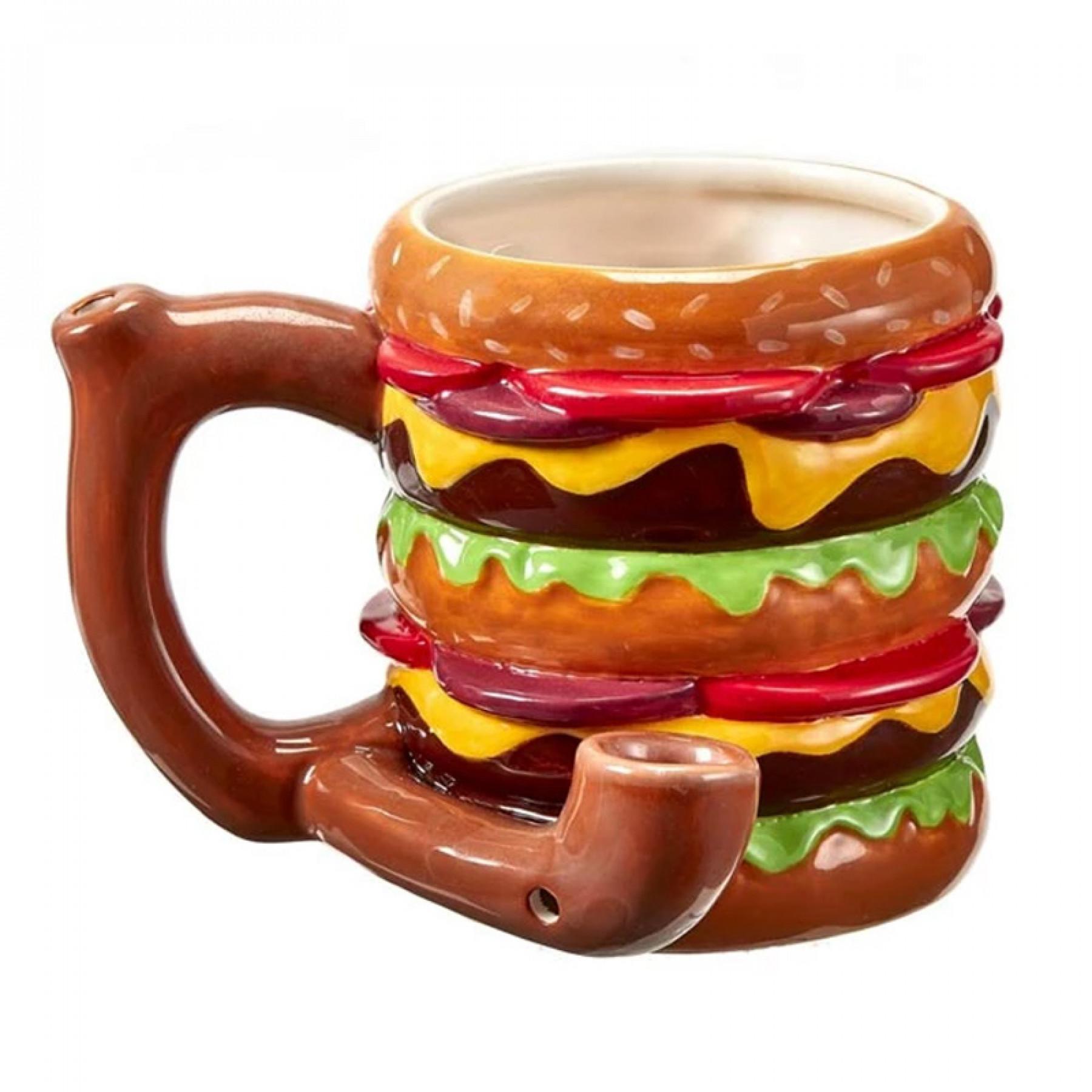 Cheeseburger Mug Pipe