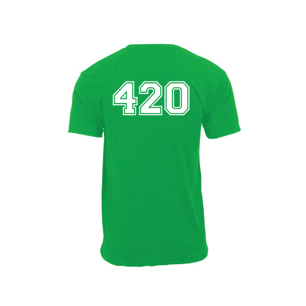 Crazy Bills Green T-Shirt