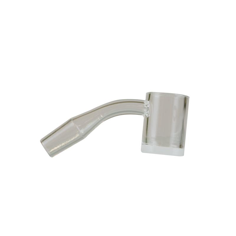 GEAR Premium Quartz Male 45 Degree Banger W/Flat Top & Opaque Bottom