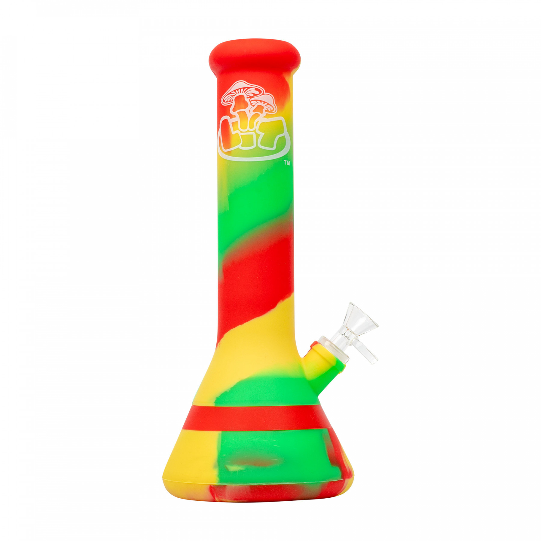 "LIT™ Silicone 12"" Beaker Water Pipe"