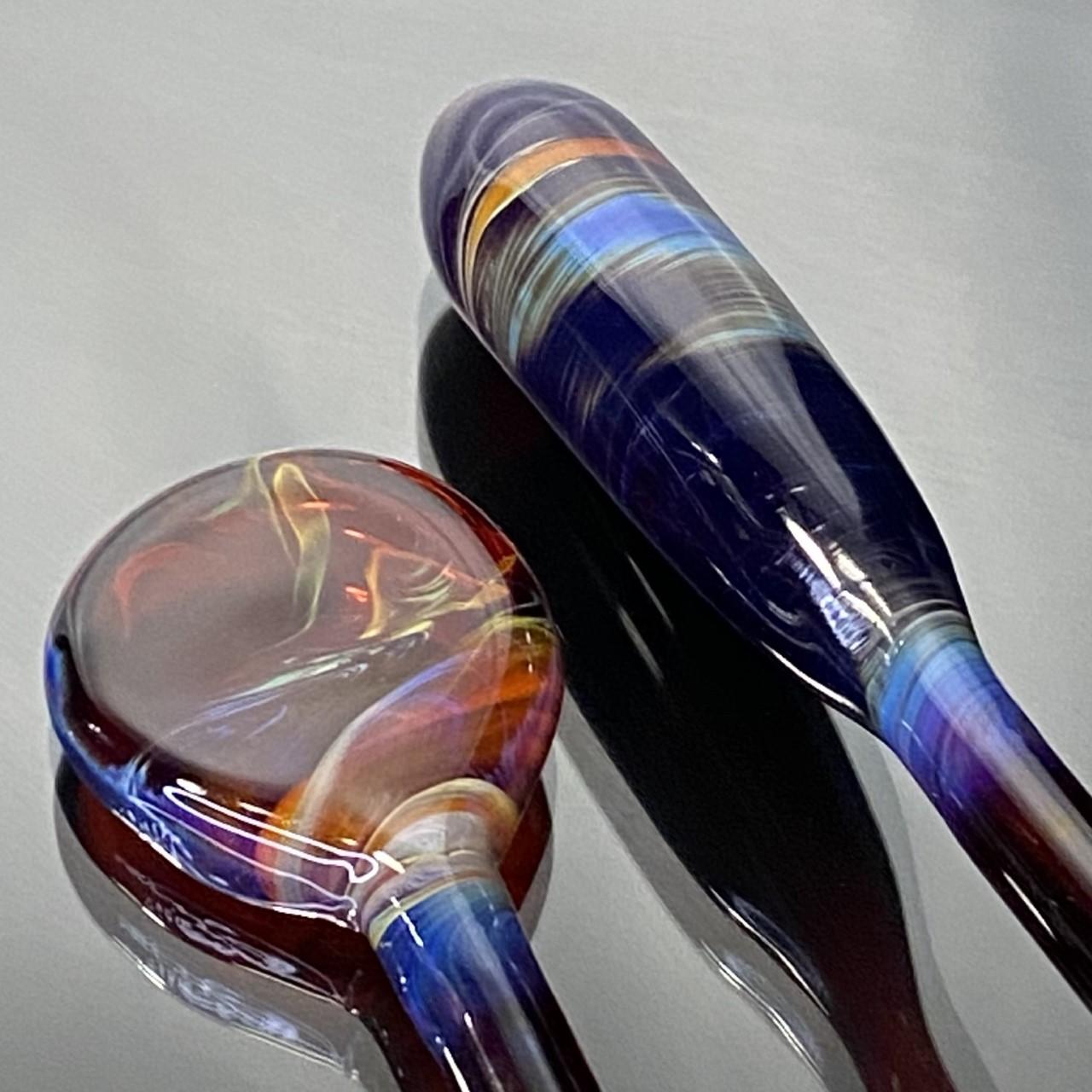 Pangea Chillium Pipe - Amber Purple