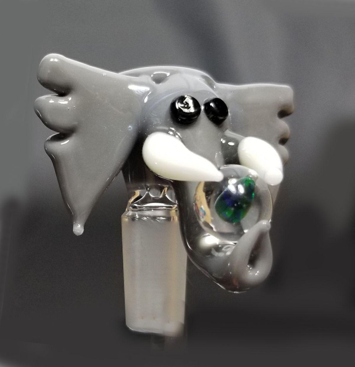 Pangea Elephant Opal Bowl