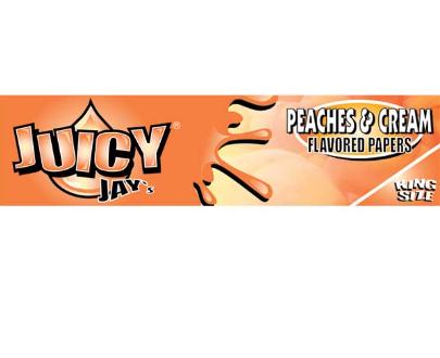 Juicy Jay's Peaches & Cream