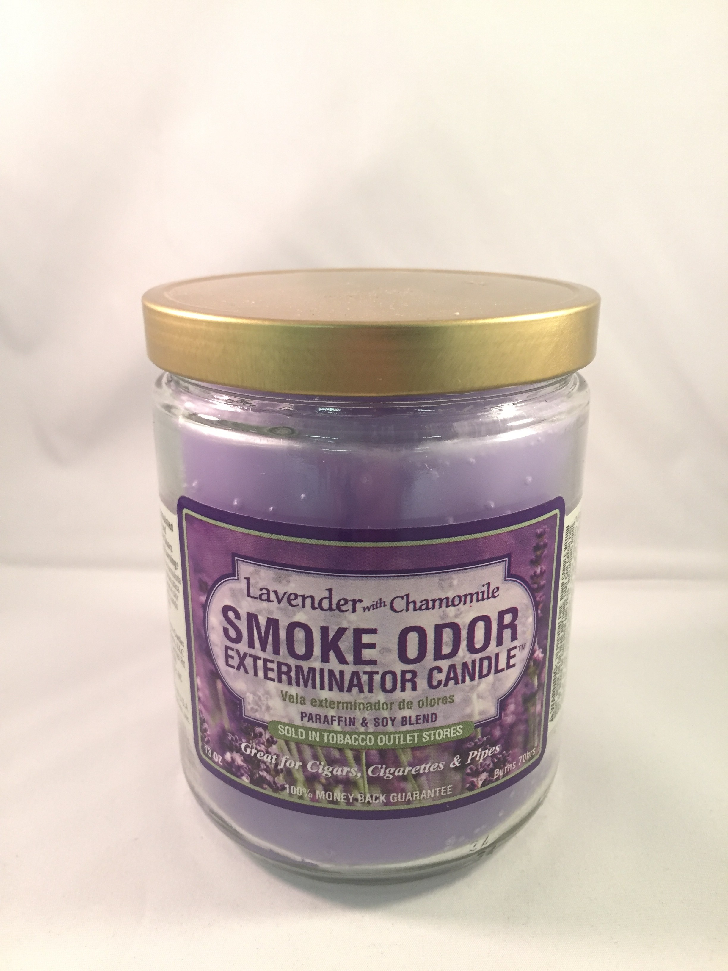 Smoke Odor Exterminator Candle - Lavender with Chamomile