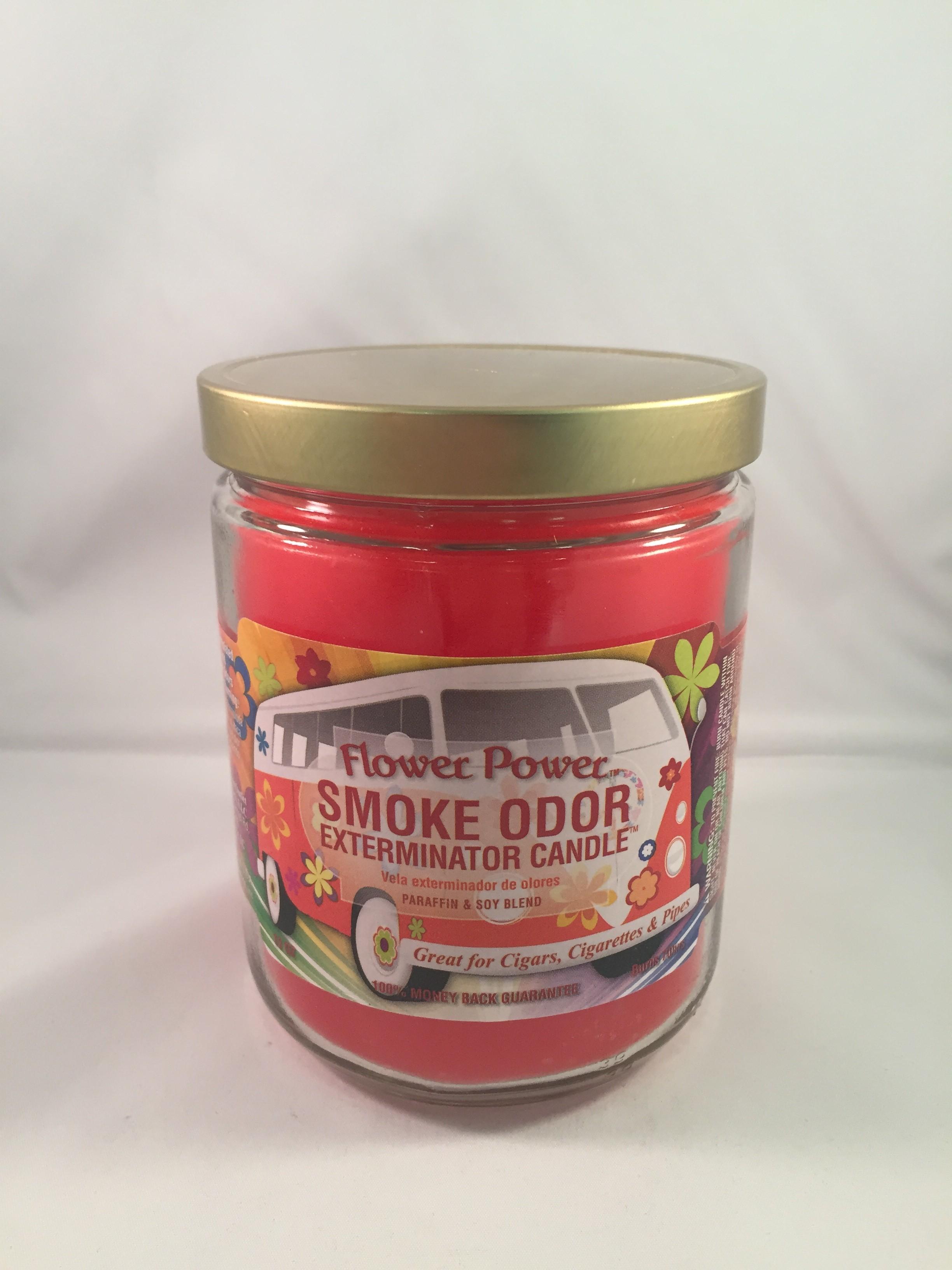 Smoke Odor Exterminator Candle - Flower Power