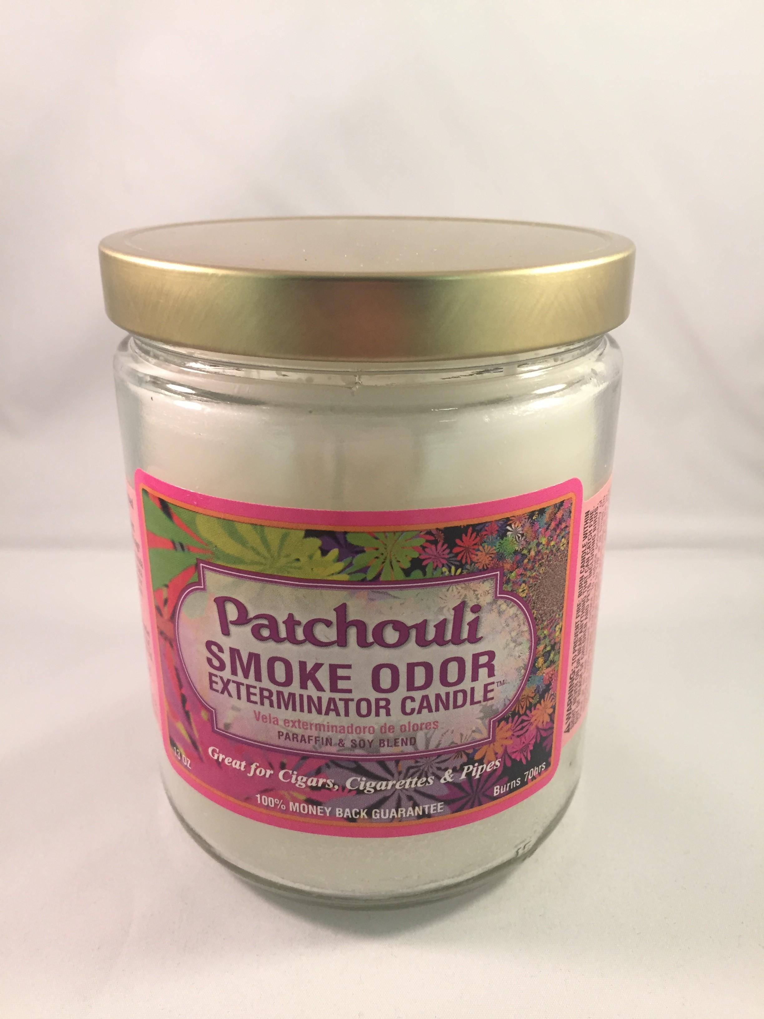 Smoke Odor Exterminator Candle - Patchouli