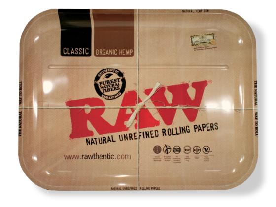 RAW Metal Rolling Tray - XXL