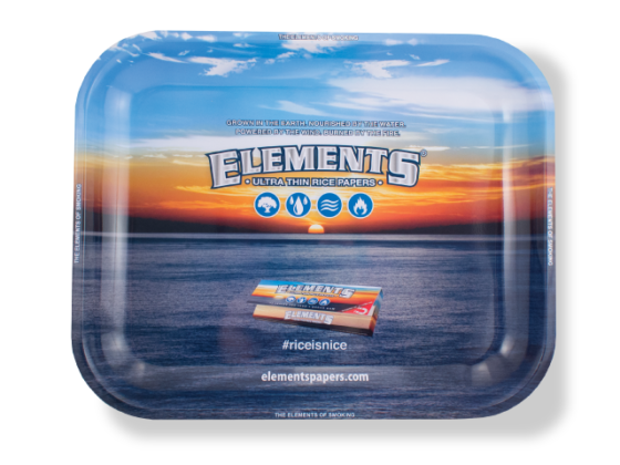 Elements Metal Rolling Tray - Large