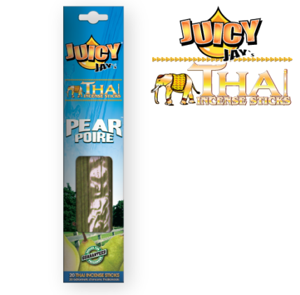 Juicy Jay's Thai Incense Sticks - Pear