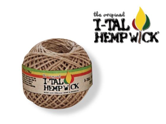I-Tal Hemp Wick - XLRG Spool