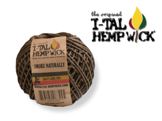I-Tal Hemp Wick - KS Wick Ball