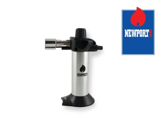 Newport Mini Torch Lighter - Silver