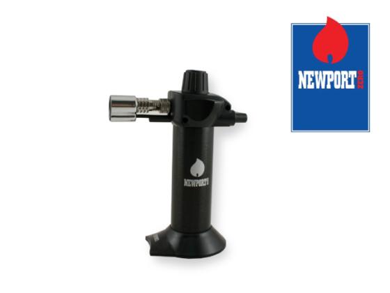 Newport Mini Torch Lighter - Black