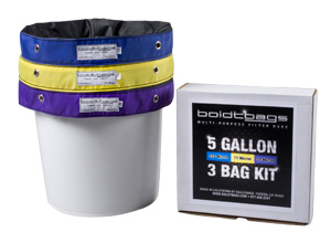 Boldtbags Filter Bag Kits - 5 Gallon 3 Bag