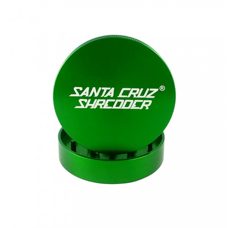 "Santa Cruz Shredder 2-Piece Grinder - 1.5"", Green"
