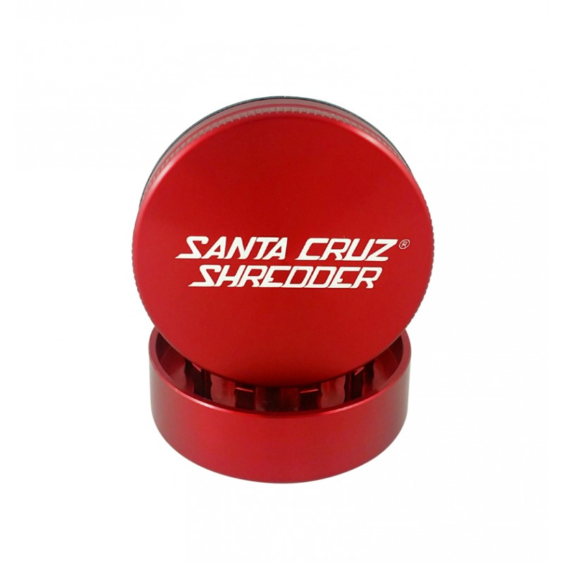 "Santa Cruz Shredder 2-Piece Grinder - 1.5"", Red"