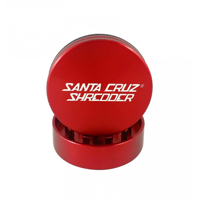 "Santa Cruz Shredder 2-Piece Grinder - 2.2"", Red"