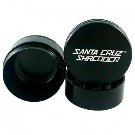 Santa Cruz Shredder 3-Piece Grinder - Black, 2.75