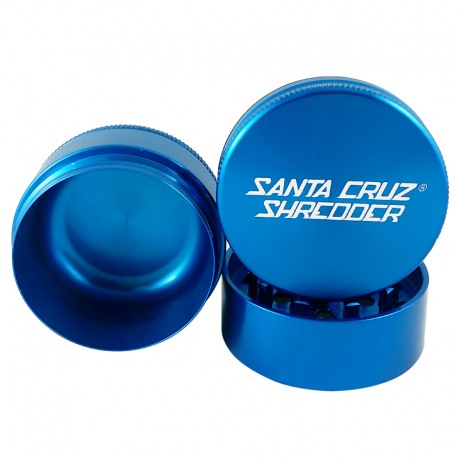 Santa Cruz Shredder 3-Piece Grinder - Blue, 2.75
