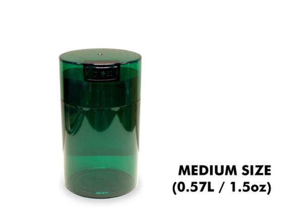 TightVac Medium Cases - Green Emerald