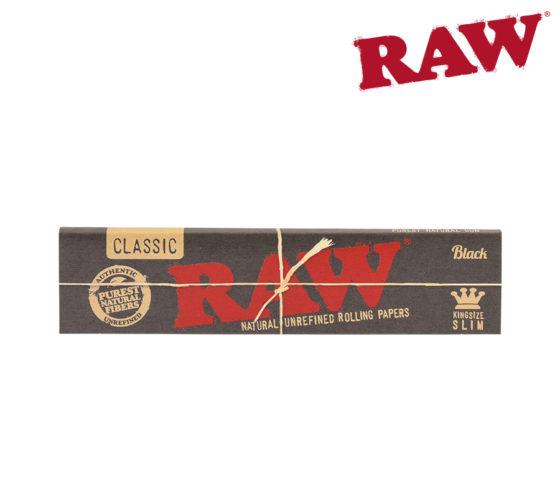 Raw Black Slim - King Size