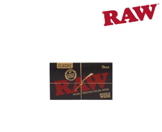Raw Black Slim - Single Wide