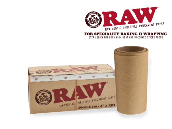 """Raw Parchment Paper - 4"""" x 13 FT Roll"""
