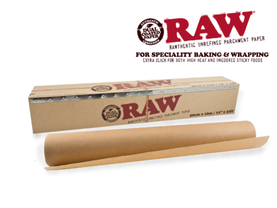 """Raw Parchment Paper - 12"""" x 32FT Roll"""