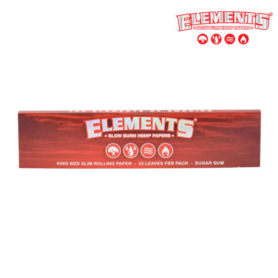 Elements Red - King Size