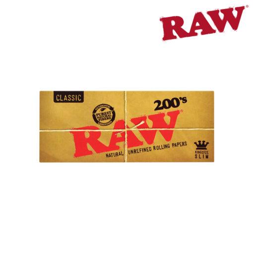 RAW KING SIZE SLIM 200'S