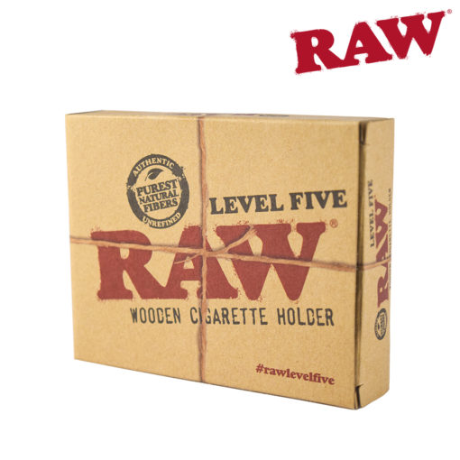 Raw Level Five Wooden Holder