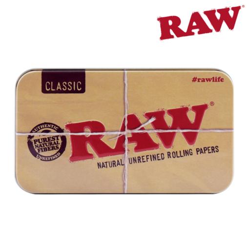 RAW METAL TIN CASE