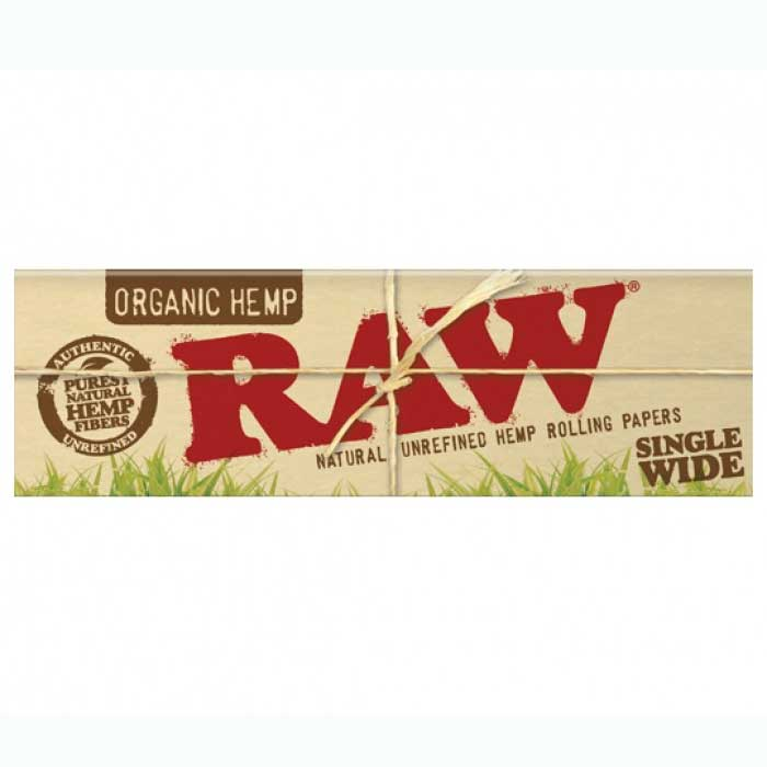 Raw Organic Hemp Single Wide