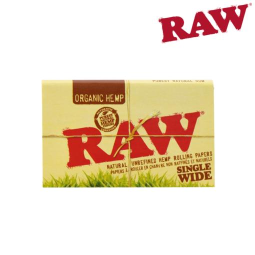 Raw Organic Hemp Single Wide Double Window