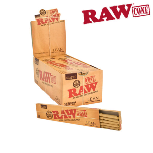 Raw Pre-Rolled Lean Cones