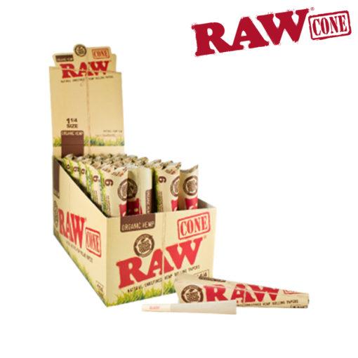 Raw Pre-Rolled Organic 11/4 Cone