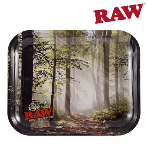 RAW Smokey Forest Rolling Tray