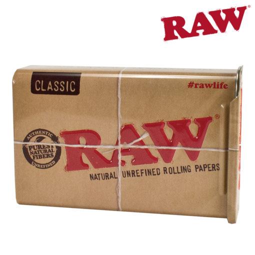 RAW TIN CASE LARGE W/ SLIDING TOP
