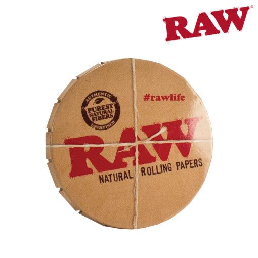 RAW TIN ROUND SM W/ CLIP TOP
