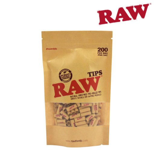 RAW TIPS - PRE-ROLLED UNBLEACHED