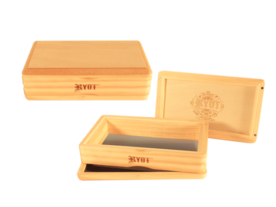 Ryot Solid Top Wooden Sifter Box