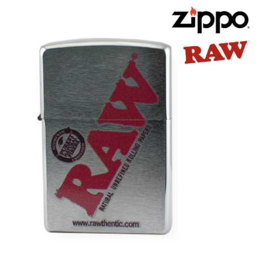 ZIPPO LIGHTER - RAW CHROME