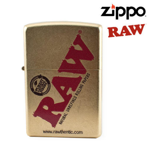 ZIPPO LIGHTER - RAW GOLD