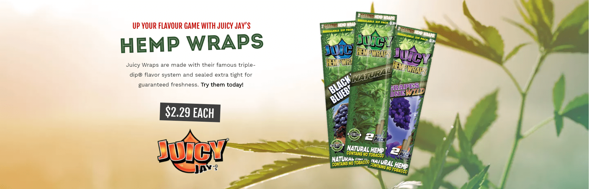 Juicy Jay Flavored Papers